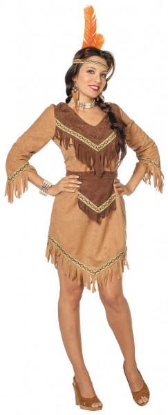 Squaw Indianerin Kostüm 1