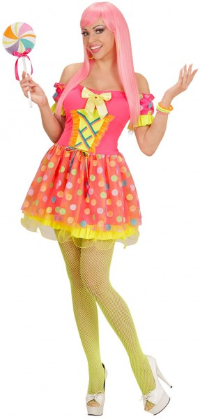 Süßes Candy Girl Damenkostüm