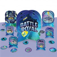 Battle Royal Birthday Tischdeko Set 27-teilig