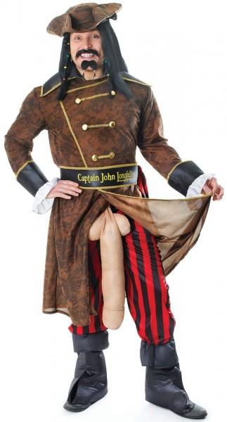 Piratenkapitän Jack Der Große Kostüm