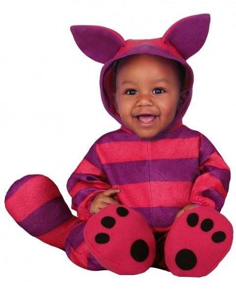 Kostium uśmiechniętego kociaka dla niemowląt