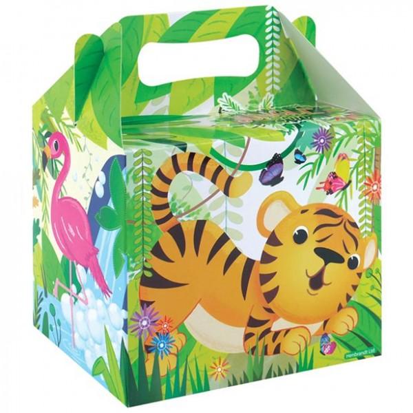 1 caja de regalo de animales de la selva