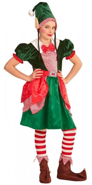 Weihnachtswichtel Kinderkostüm Alwa