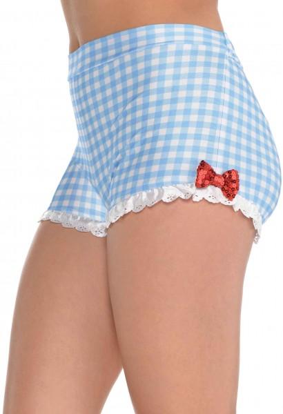 Karierte Hotpants für Damen