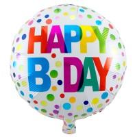 Splendid Happy Birthday Folienballon 45cm