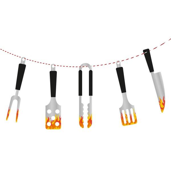 Łańcuch na proporczyk BBQ Master 1,8m