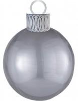 Aperçu: Ballon de Noël ballon argent 38 x 50cm