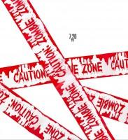 Beware Of Zombies Absperrband 7,20cm