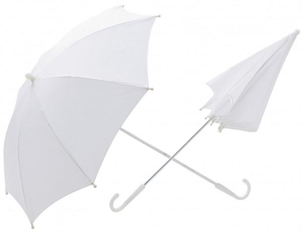Klassischer Weißer Schirm