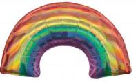Regenbogen Folienballon 86 x 48cm