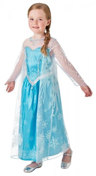 Abito con fiocco di neve Princess Elsa