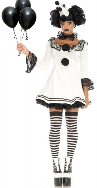 Kostium Smutny Pierrot deluxe damski