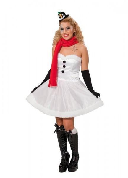 Snowwoman Judith ladies costume