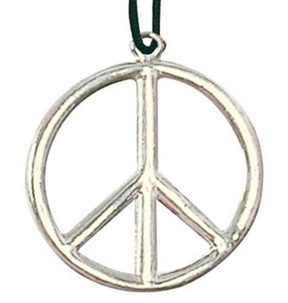 Hippie Peace Zeichen Halskette 5