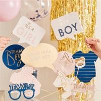 10 Baby Boom Foto Requisiten