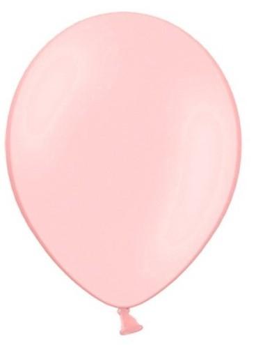 100 ballons de fête rose clair 29cm