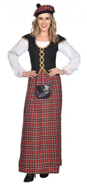 Schotse dame kostuum elegant
