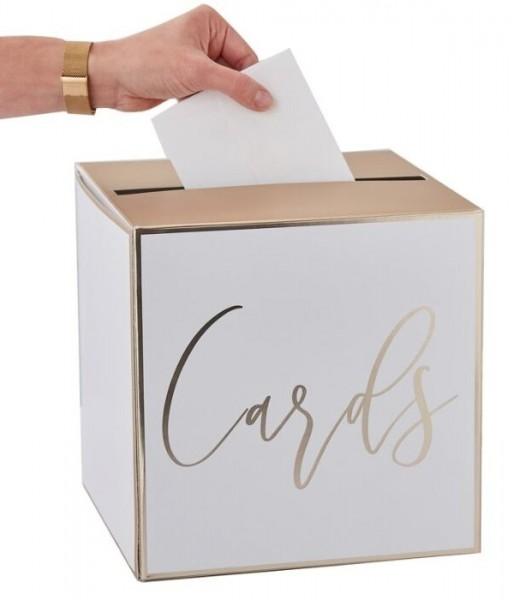 Golden Wedding Kartenbox