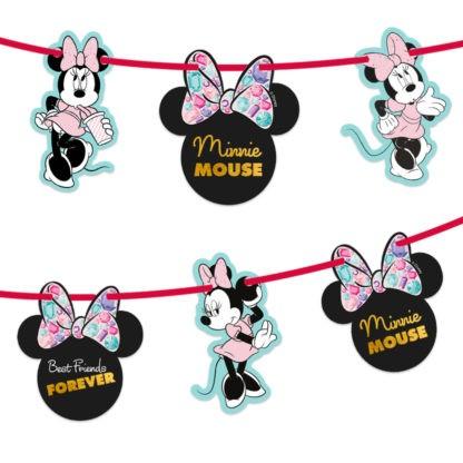Juwelen Minnie Mouse Girlande 2m
