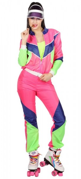 Pure 80s tracksuit for women