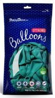 50 Partystar Luftballons türkis 27cm