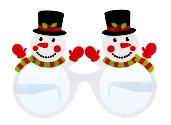 Schneemann Duo Partybrille