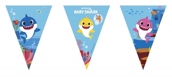 Baby Shark Fun in the Sun pennant chain