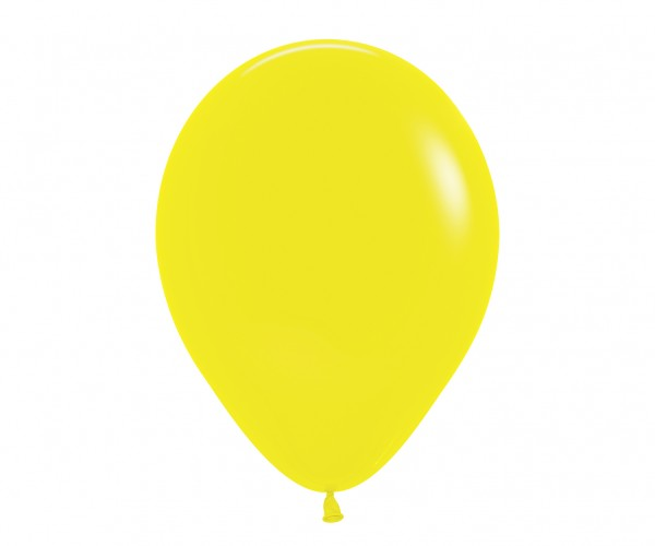 12 Party Luftballons Madrid Gelb 30cm