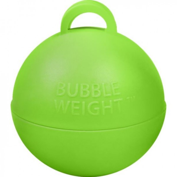 Grünes Bubble Weight Ballongewicht 35g