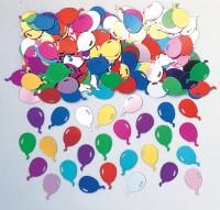 Kunterbunte Luftballon Party Streudeko Fiesta Metallic