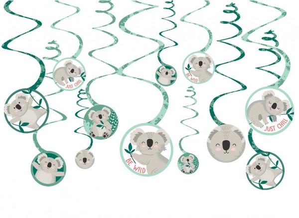 12 Süße Koala Spiralhänger