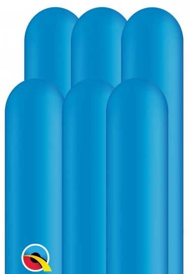 100 modeling balloons 260Q royal blue 1.5m