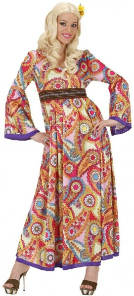 Long casual hippie women's dress