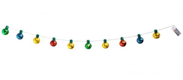 Weihnachtsglocke LED Lichterkette 140cm