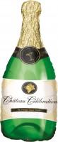 Champagnerflaschen Folienballon