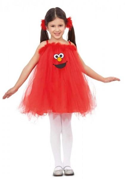 Elmo Tüllkleid für Kinder