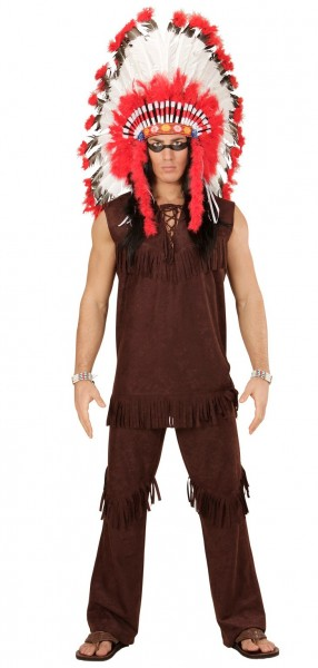Indianer Häuptling Kenai Herrenkostüm