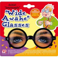 Spaßbrille Hellwach