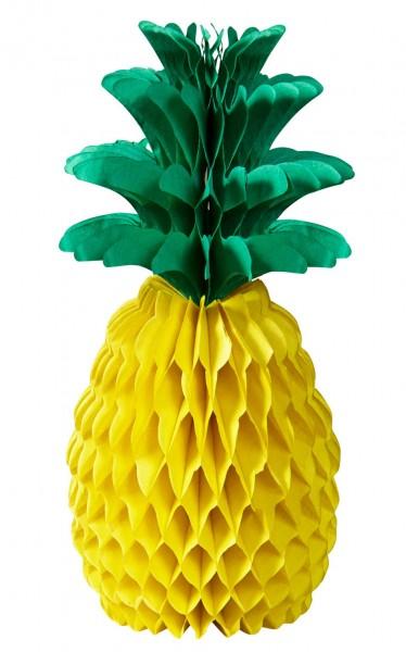Ananas Wabenball 35cm 1