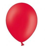 10 Partystar Luftballons rot 27cm