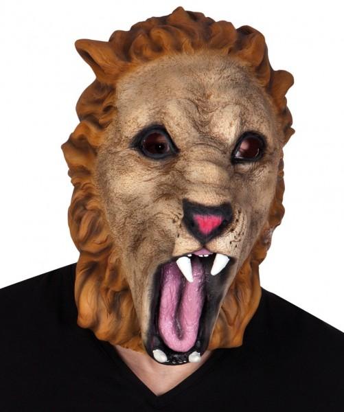 Latex Maske Löwenkopf