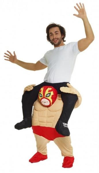 Mysterion Wrestler meeliften kostuum
