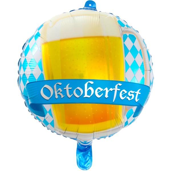 Oktoberfest Balloon Beer Liesl 43cm