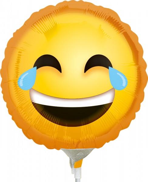 Stabballon Tränen lachender Smiley