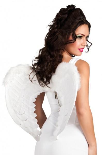 Alas de angel blanco 60 x 45cm