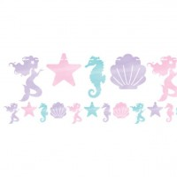 Mermaid Treasures Girlande 1,5m