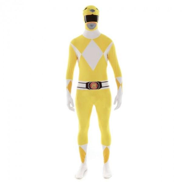 Ultimate Power Rangers Morphsuit gelb