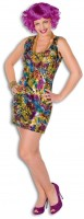 Farbenfrohes Party Kleid