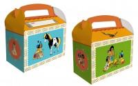 6 Yakari Party Geschenkboxen mit Namensfeld
