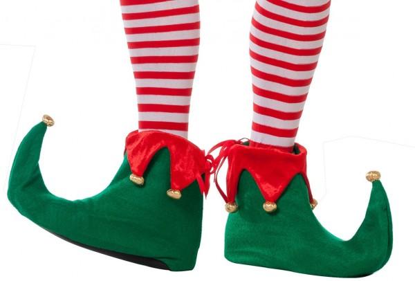 Zapatos disfraz de elfo